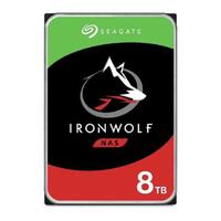 "Seagate IronWolf NAS HDD 3.5"" Internal SATA 8TB NAS HDD, 7200 RPM, 3 Year Warranty"