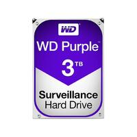 "WD HDD 3.5"" Internal SATA 3TB Purple, Variable RPM, 3 Year Warranty - WD30PURZ"
