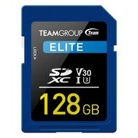 TEAMGROUP ELITE SDXC UHS-I U3 128GB High Speed Memory Card
