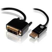 ALOGIC SmartConnect 2m DisplayPort to DVI-D Cable - Male to Male