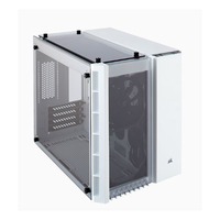 Corsair Crystal Series 280X Tempered Glass Micro-ATX Case, White (LS)
