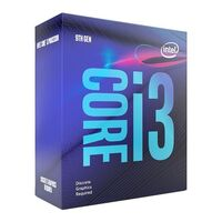 Intel Core i3-9100F Coffee Lake 4-Core 3.6 GHz (4.2 GHz Turbo) LGA 1151 (300 Series) 65W BX80684i39100F Desktop Processor Without Graphics