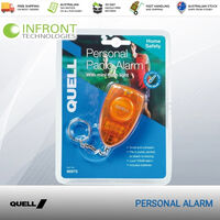 Quell Personal Panic Alarm With Mini Flash Light Personal Siren