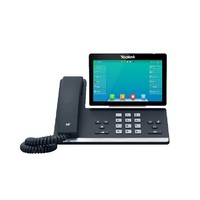16 Line IP HD Phone, 7'' 800 x 480 colour screen, HD voice, Dual Gig Ports, Built in Bluetooth and WiFi, USB 2.0 Port