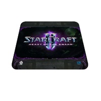 QcK Starcraft II Heart Of The Swarm Logo Edition Mouse Pad